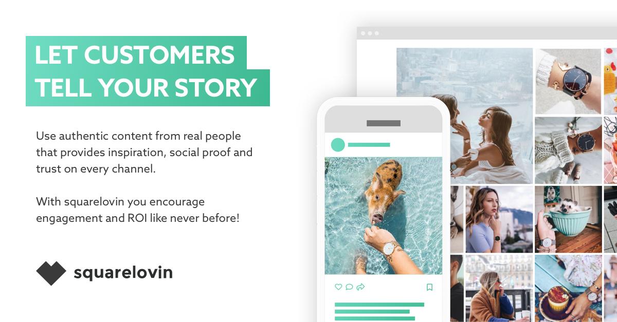 Visual Commerce Marketing Platform